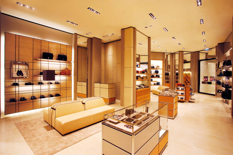 retail interior photography