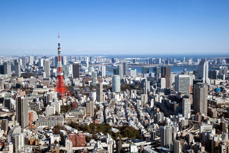 Architectural Tokyo photo