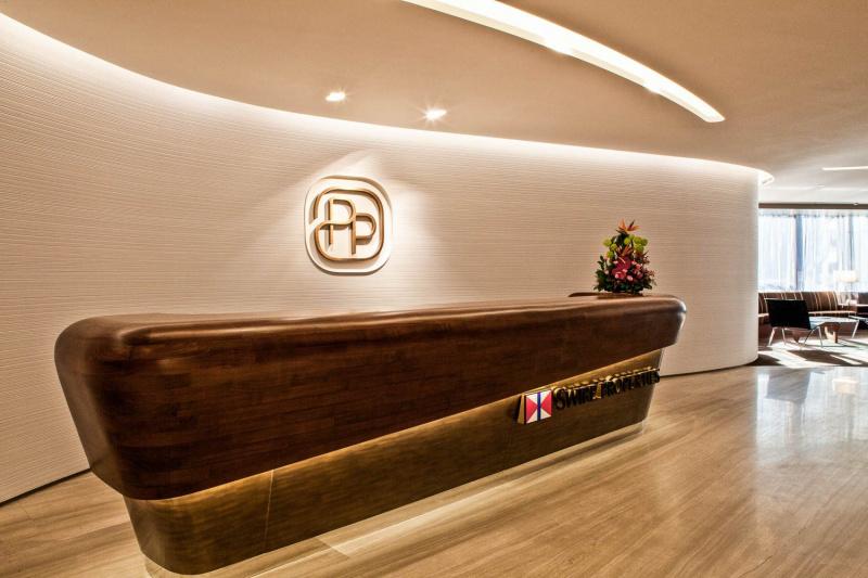 Interiors Pacific place Hong Kong