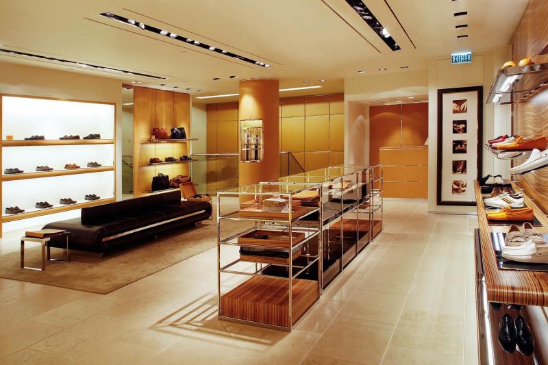 retail interior Tods Hong Kong