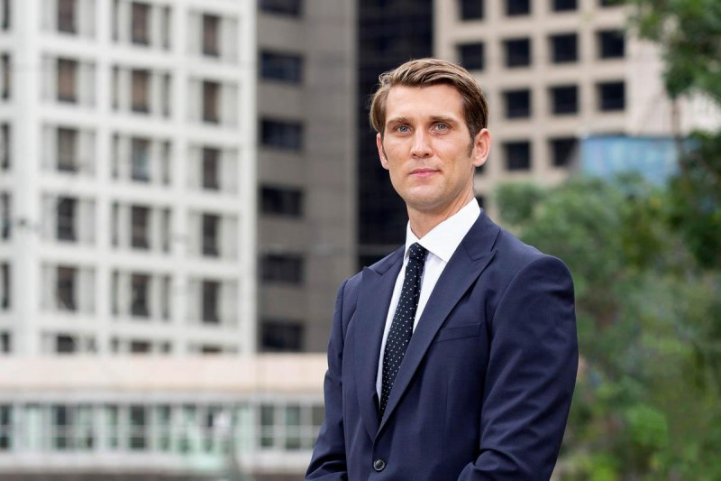 outdoor corporate portrait in Central, Hong Kong