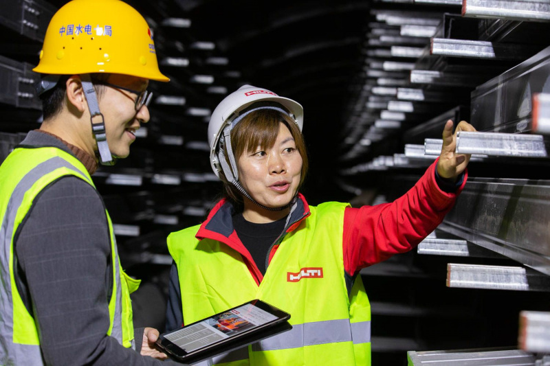 Industrial photography HILTI china
