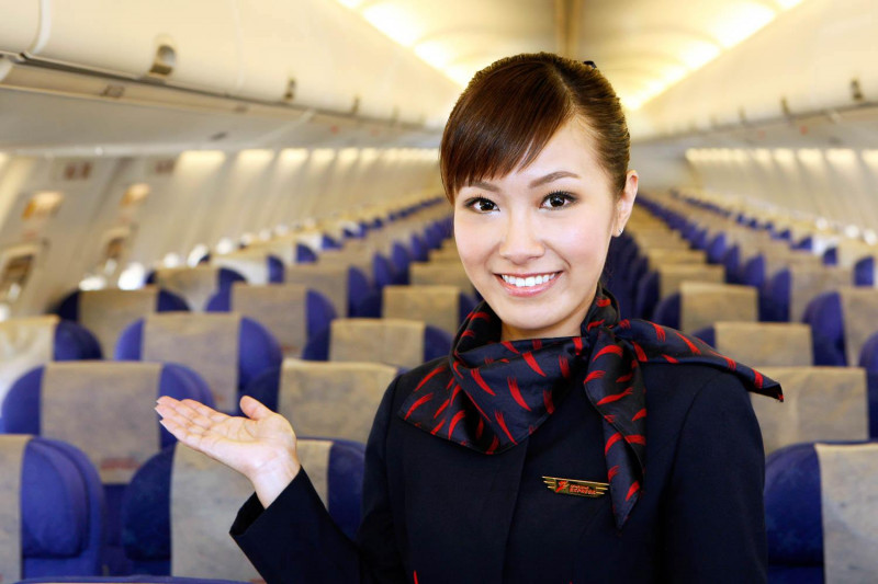 airline photography flight attendant