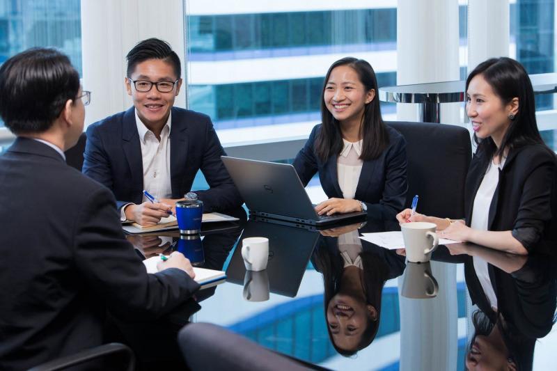 business meeting Hong Kong