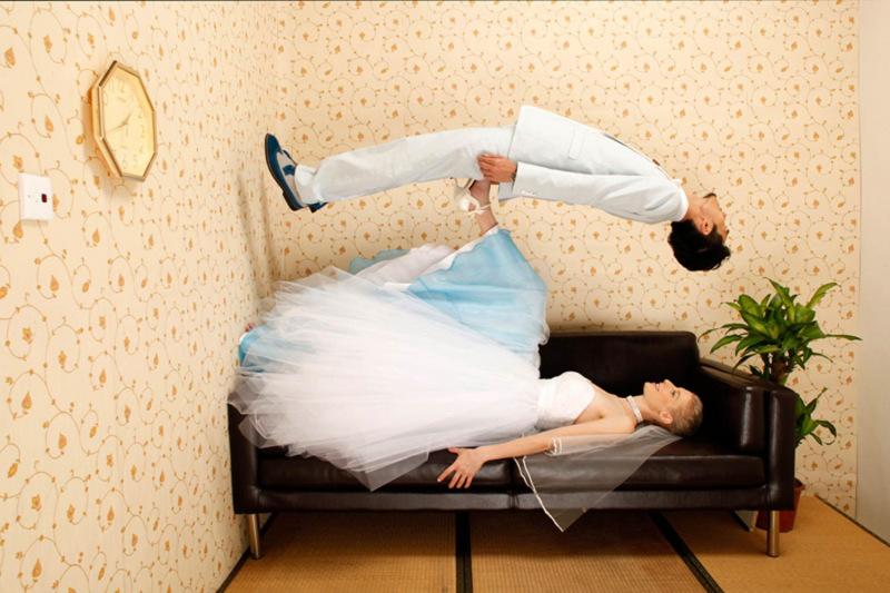 studio photography wedding