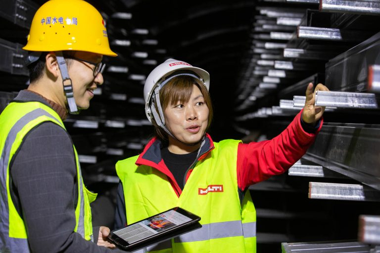 HILTI industrial photography