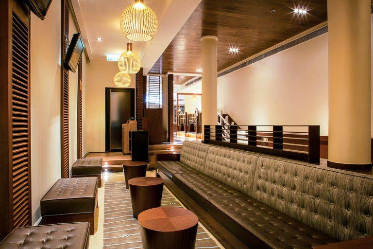 interior jockey club restaurant