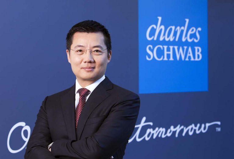 Charles Schwab CEO portrait